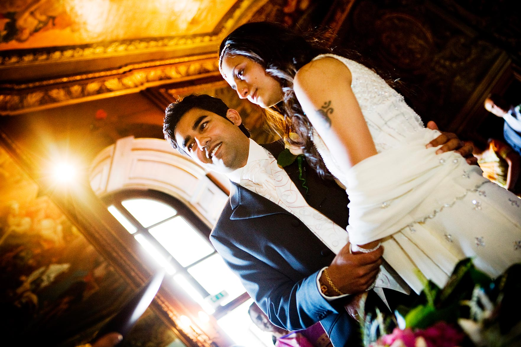 Ravi and Ushma's wedding