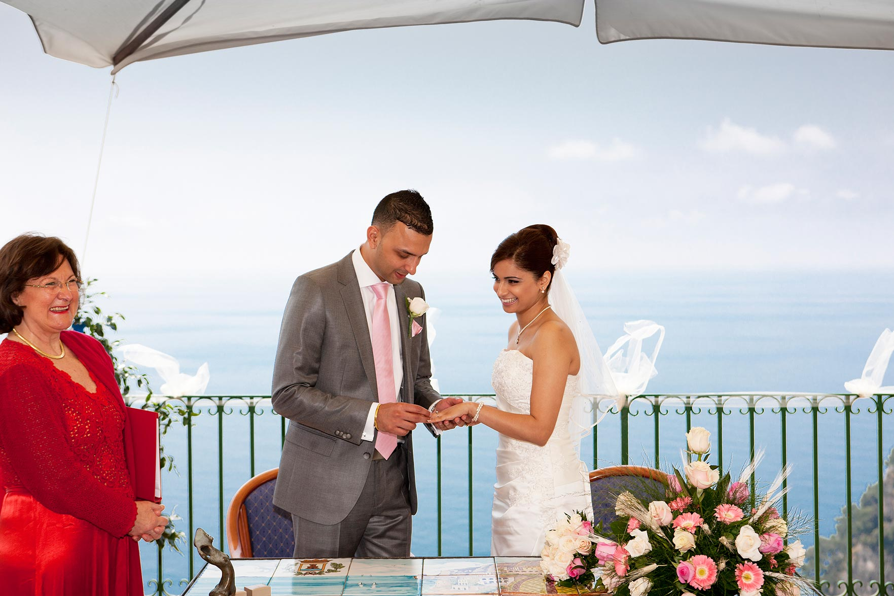 Harpal and Mindy Wedding in Positano